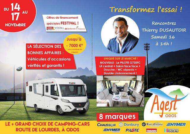 Festival du Camping Car Odos Tarbes