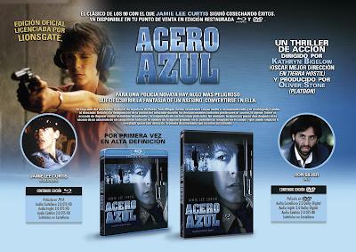 ACERO AZUL. Blu-ray DISC