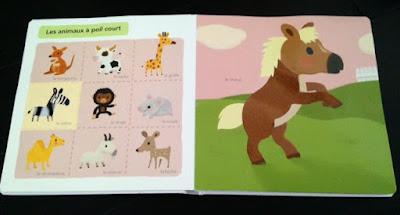 Mon grand imagier à toucher - Editions MILAN JEUNESSE - Les animaux à poil court