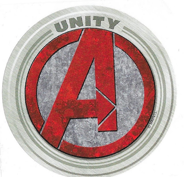 Avengers Unity Sticker Disney California Adventure