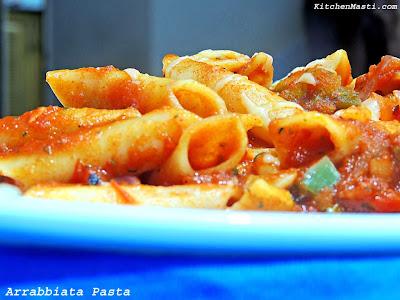 Arrabbiata+Penne+Pasta