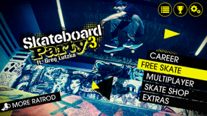Skateboard Party 3 Greg Lutzka MOD APK+DATA Unlimited Exp