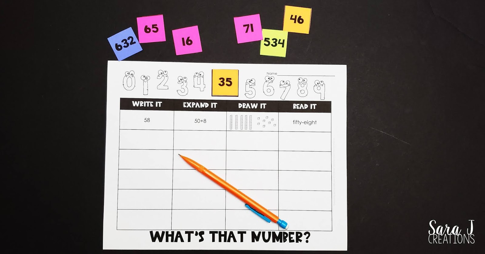 Make place value more fun with this FREE place value practice game. This is ideal for second grade because it focuses on two and three digit numbers and writing them in standard, word, expanded form and base ten blocks. But there is also and editable sheet where you can add any number making this something first or 3rd grade students would love too. Perfect activity for teaching or reviewing place value during math centers.