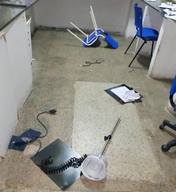 Paciente agride técnico de enfermagem dentro de hospital em Mossoró, RN