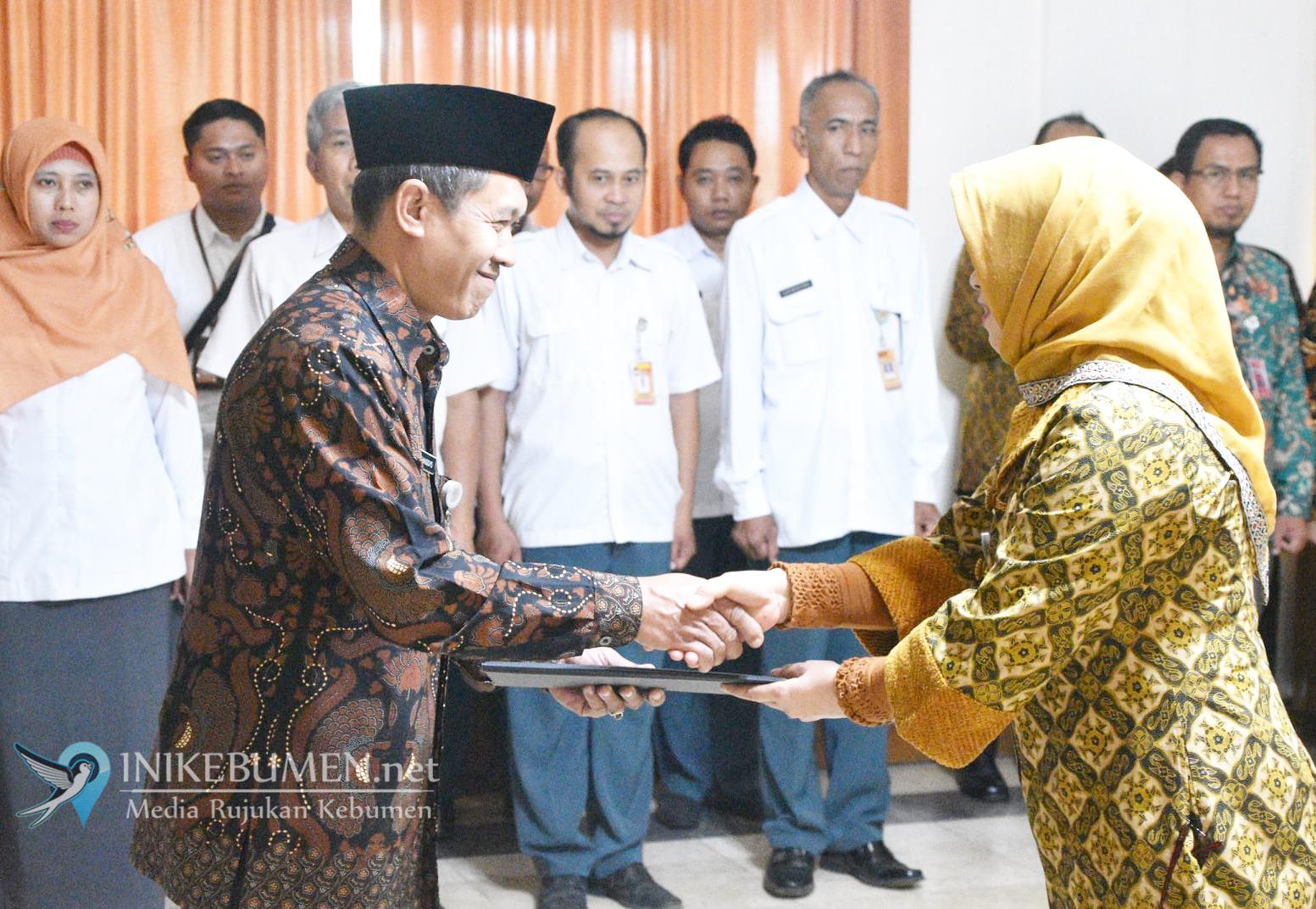 Gantikan Bambang BH, Handoyo Resmi Jabat Sekretaris KPU Kebumen