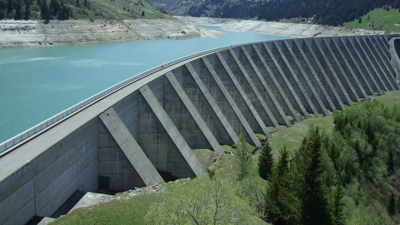 tipos de presas de agua