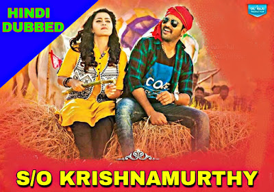 S/O Krishnamurthy Hindi Dubbed Full Movie Download filmywap, filmyzilla, moviez, 9xmovies, Jalshamoviez
