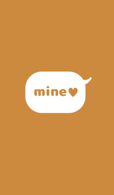 mine ! brown