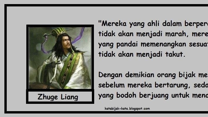 Kata Kata Bijak Zhuge Liang Quotes Kata Mutiara