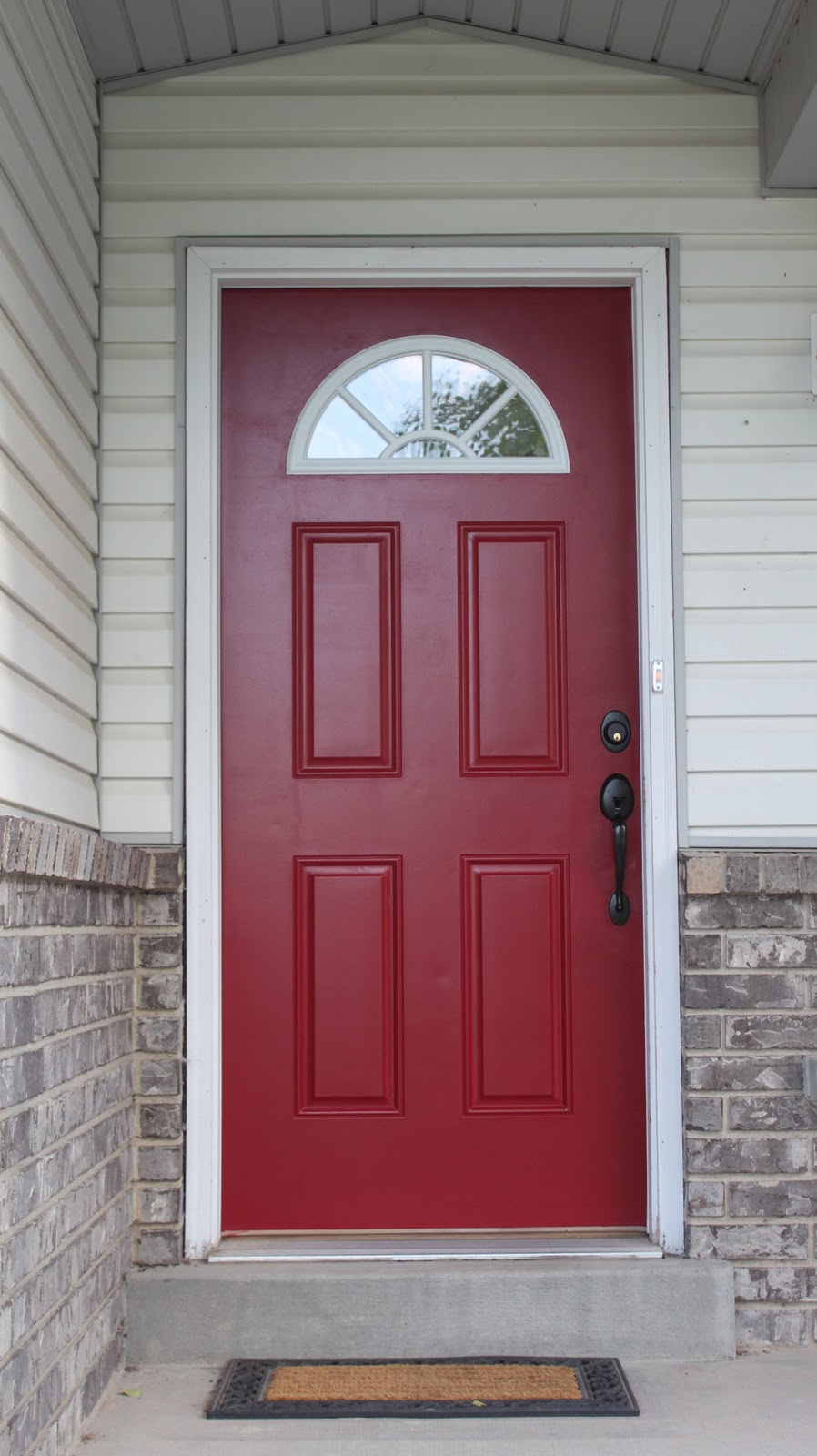 Red Door Home Two Simple Ideas To Add Character To Your: Red Front Doors