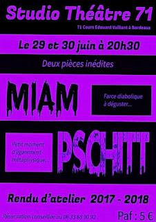 Affiche Miam Pschitt