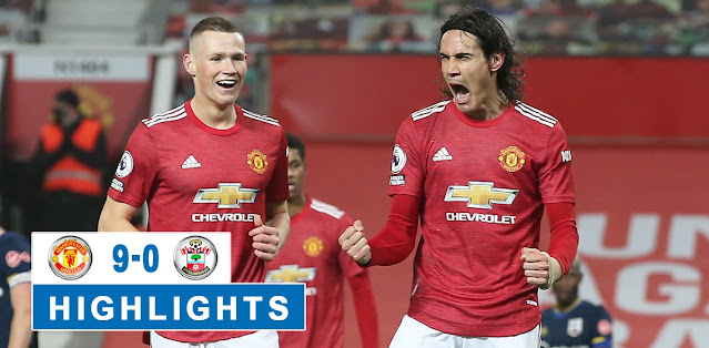 Manchester United vs Southampton Highlights