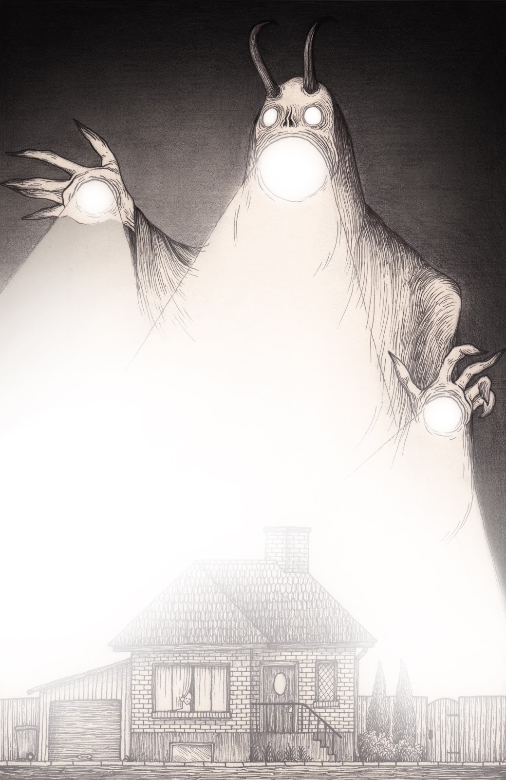 Stress Monster Drawings by Don Kenn - Art People Gallery