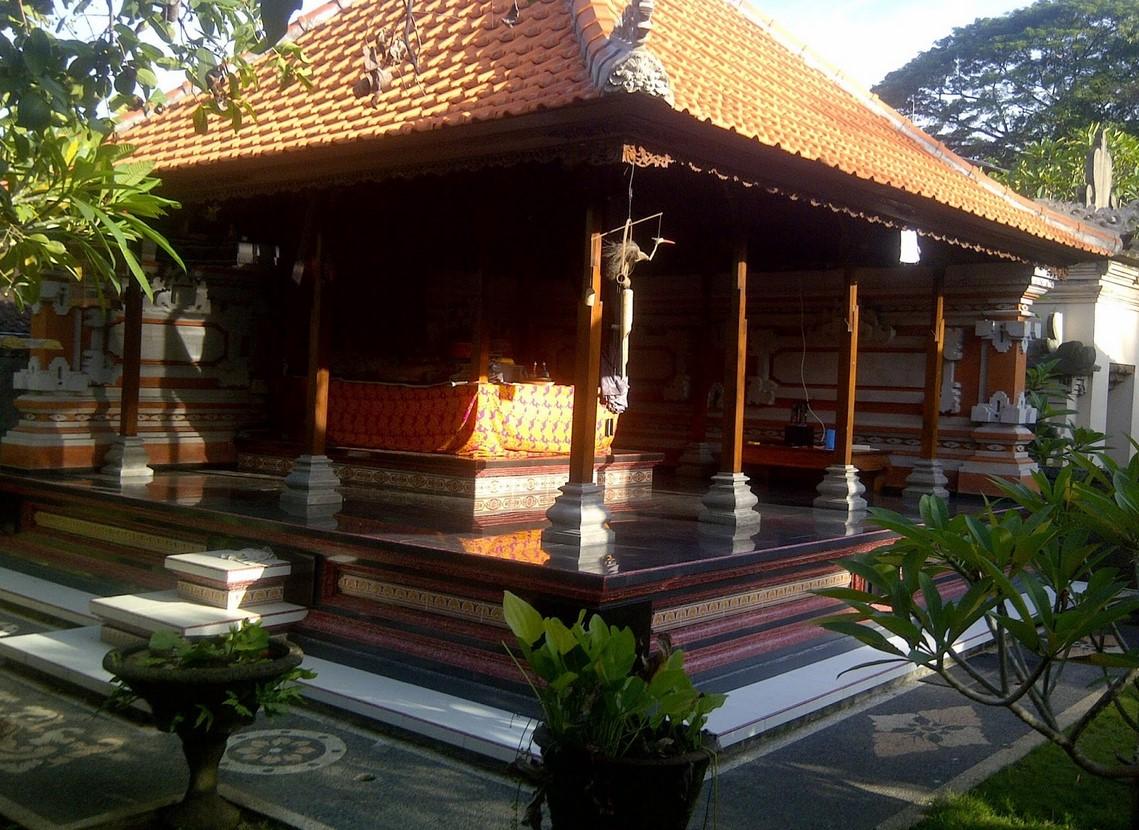 Desain Rumah Adat Bali Ruang Belajar Siswa Kelas 4