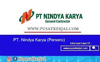 Lowongan Kerja BUMN PT Nindya Karya November 2020