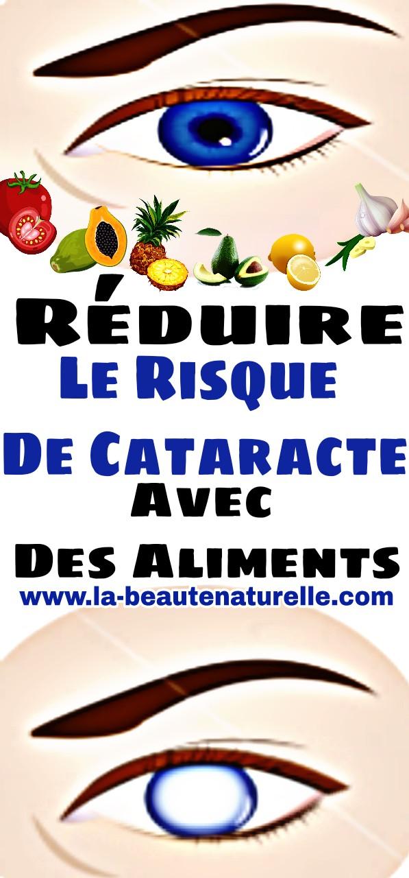 Réduire le risque de cataracte avec des aliments