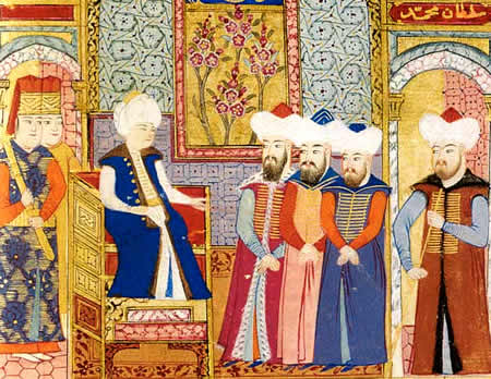 Mehmed I court