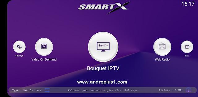 تطبيق Smart X العملاق لمشاهدة جميع القنوات العربية و الاجنبية المشفرة