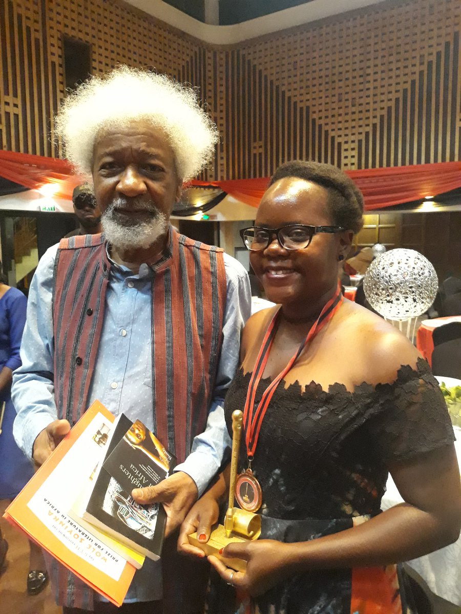 Ugandan Author, Harriet Anena Wins 2018 Wole Soyinka Prize For Literature In Africa