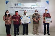 Bandara Sam Ratulangi Manado Salurkan 150 Paket Sembako Ramadan Kareem