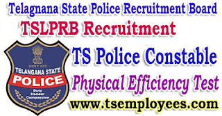 TS Police Constable Physical Efficiency Test PET