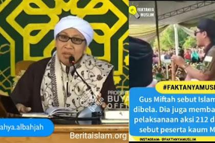 "Nasihat Buya Yahya Untuk Gus Miftah Terkait Videonya yang Viral ""Islam Tidak Perlu Dibela"""