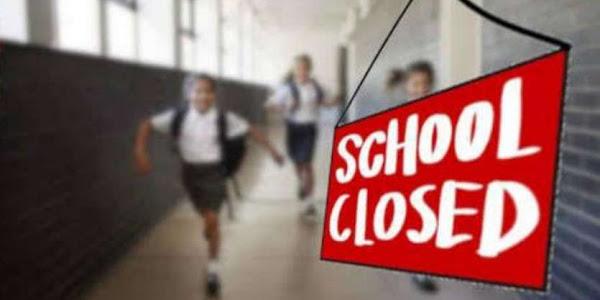 कोरोना वायरस के चलते सभी सरकारी और प्राइवेट स्कूलों की छुट्टी घोषित