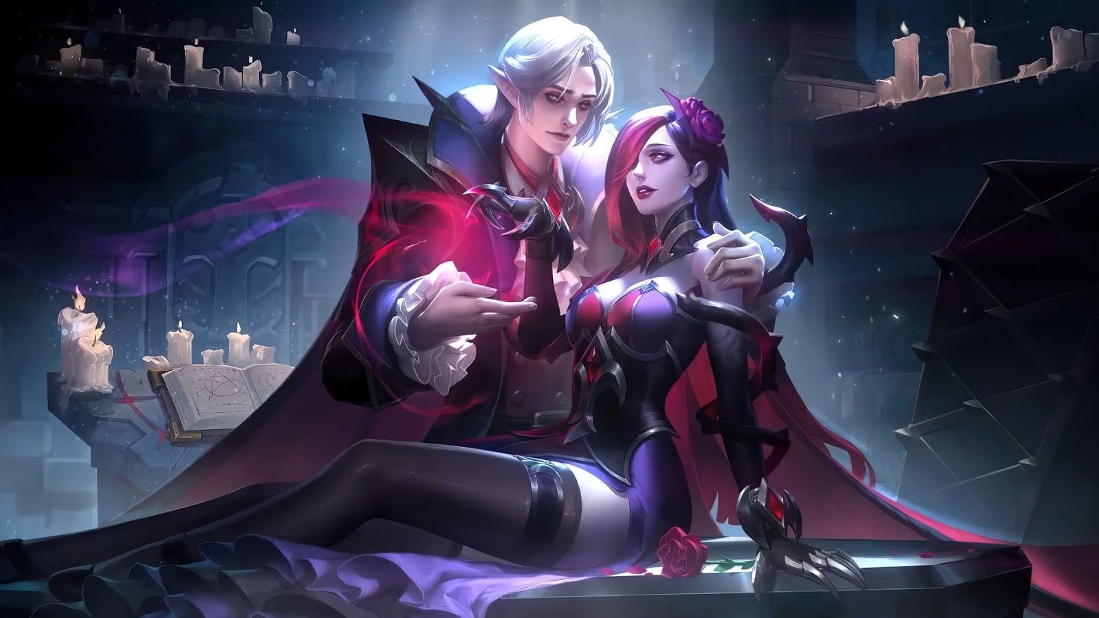 Wallpaper Cecilion and Carmilla Mobile Legends HD for PC