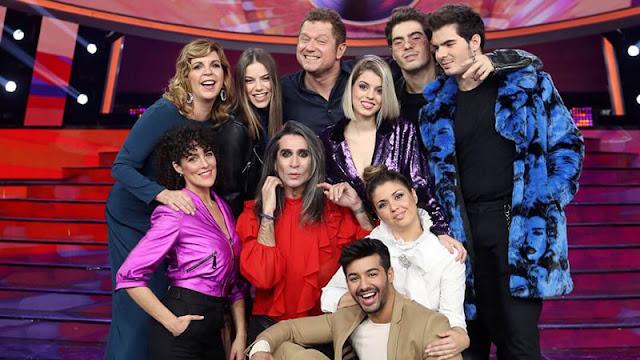 Concursantes de la octava edición de 'Tu cara me suena' de Antena 3