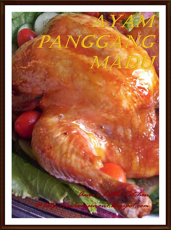 sinar terang yangria   masak ayam panggang madu Resepi Menggunakan Nasi Sejuk Enak dan Mudah