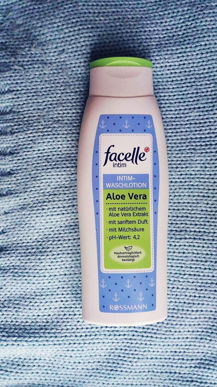 Aloesowy płyn do higieny intymnej Facelle Intim