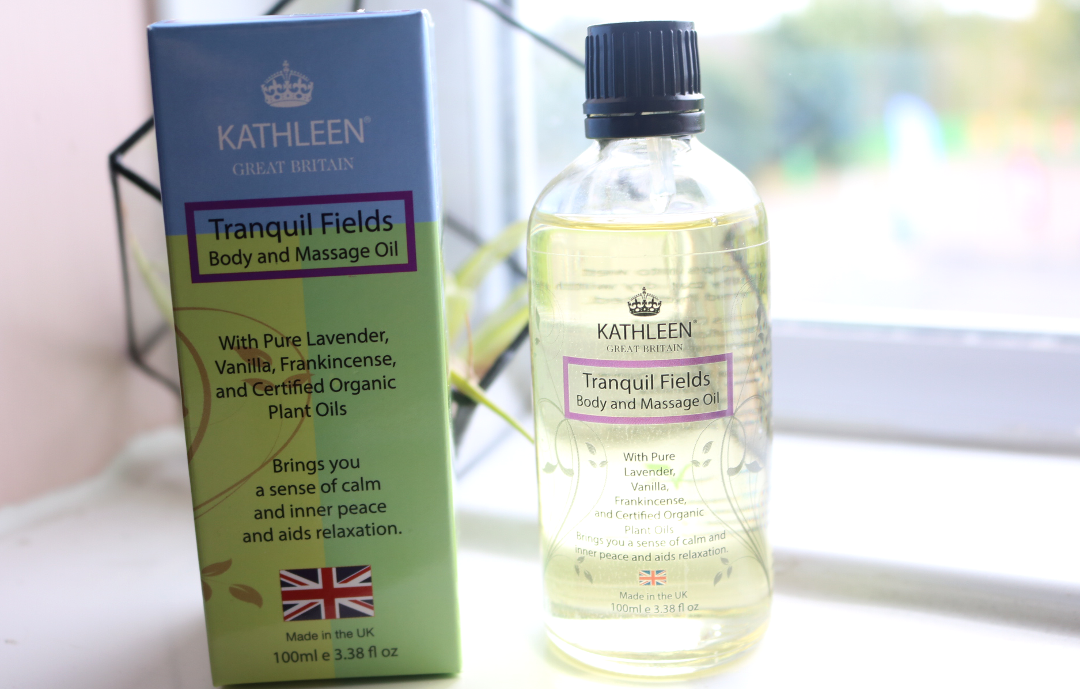 Kathleen Tranquil Fields Body And Massage Oil