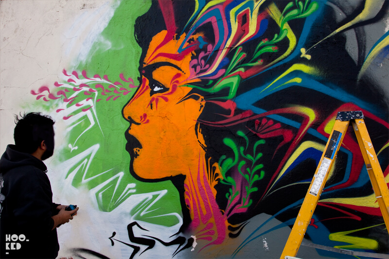 Colombian Street Artist Stinkfish returns to London