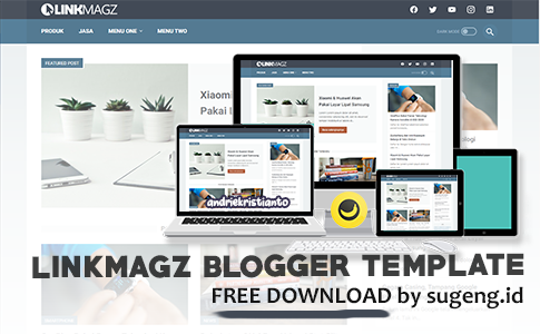 LinkMagz SEO Blogger Template by mas sugeng.id