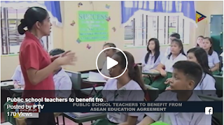 NEWS: Public school teachers to benefit from ASEAN Education Agreement #ASEAN2017