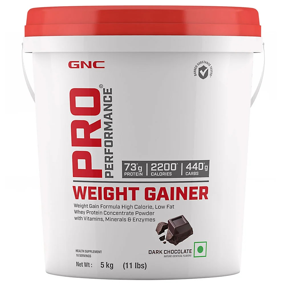 GNC Pro Performance Weight Gainer, 11 lb