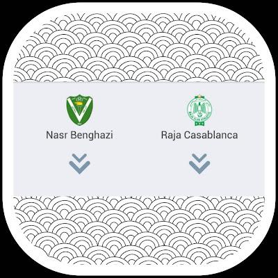 NASR BENGHAZI  VS  RAJA CASABLANCA en direct : Ligue des champions de la CAF- Qualification