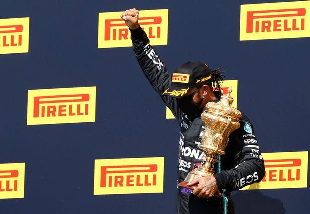 Lewis Hamilton wins record seventh British Grand Prix