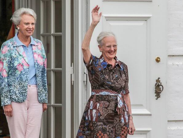The Queen's sister, Princess Benedikte and The Queen's Swedish cousin, Princess Christina, Mrs. Magnuson