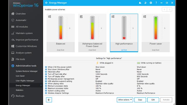Ashampoo Windows Optimizer
