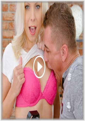 18+ TeenMegaWorld-Julia Parker-Badass blonde wears pink 2019 XXX