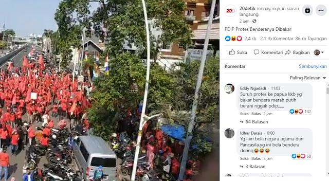 Kocak! Komentari Protes PDIP, Warganet: Yang Lain Bela Agama, Bela Negara, Ini Bela Partai