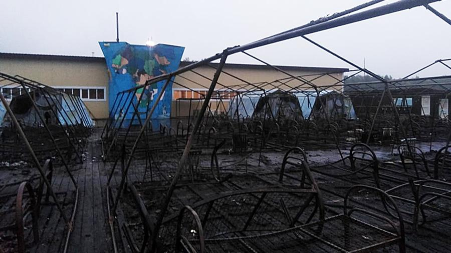 Ugunsgrēkā bērnu nometnē Krievijā gājusi bojā meitene