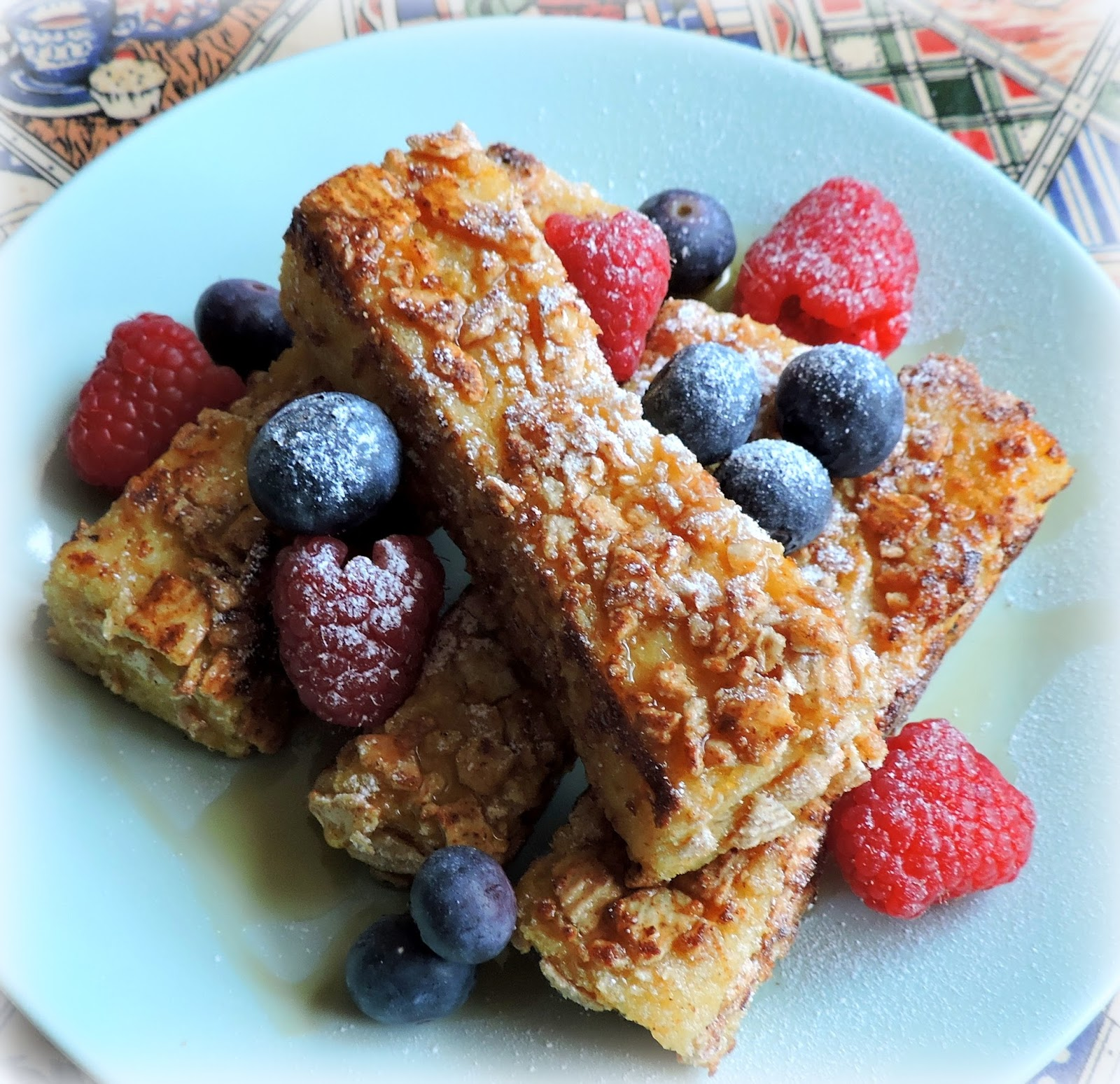 The english kitchen cookie crisp french toast sticks you could make them a bit healthier by using whole wheat bread make sure you pick a sturdy thick one and that you pick whole wheat not brown ccuart Images