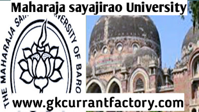 Maharaja sayajirao University Recruitment