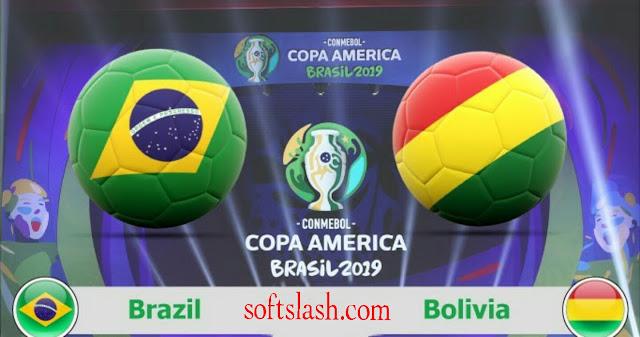 شاهد مباراة البرازيل ضد بوليفيا مباشر live أو عبر iptv جميع الجودات