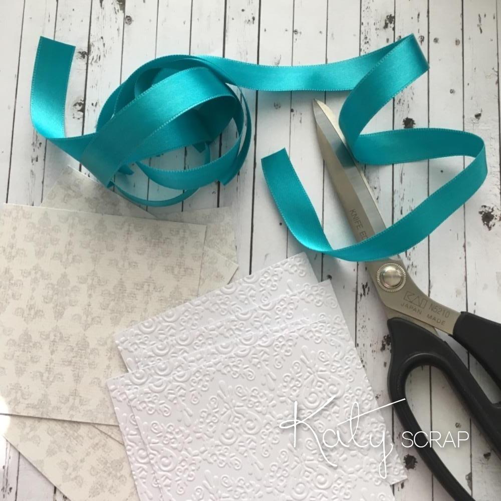 Handmade By Katy Scrap Svatba V Barve Tiffany