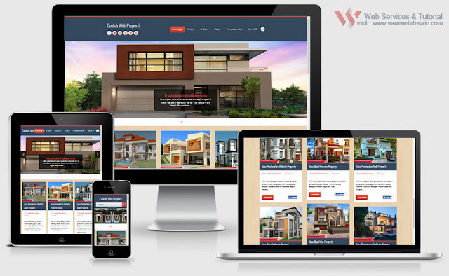 jasa pembuatan website properti murah