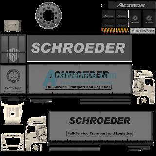 Download Livery Truck Actors White Roda 10