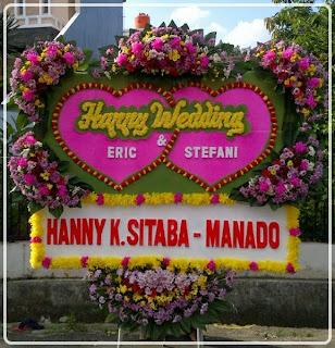 Bunga Papan Pernikahan Oktober 2013